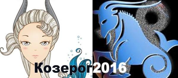 Козерог гороскоп на 2016 год