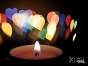 Сердце пламя свеча