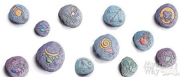 Знаки зодиака камни