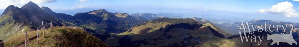Зелень в горах